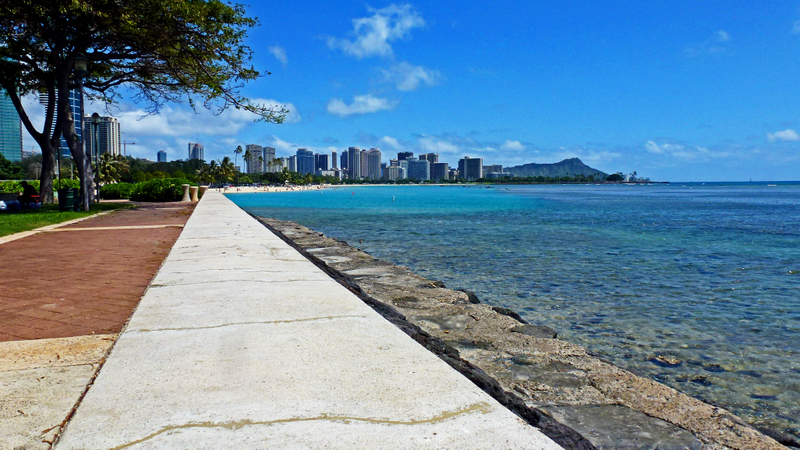 One of the benefits of Hawaii travel is getting to see views of Oahu's scenic coastline.