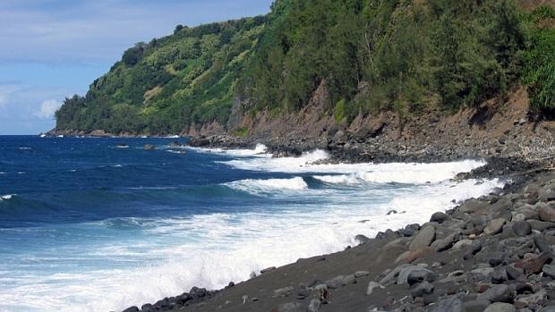 Hamakua Cost, Big Island, Hawaii