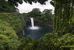 Rainbow Falls, one of the many beautiful Big Island parks.